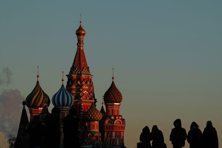 Het Rode Plein in Moskou. Beeld REUTERS