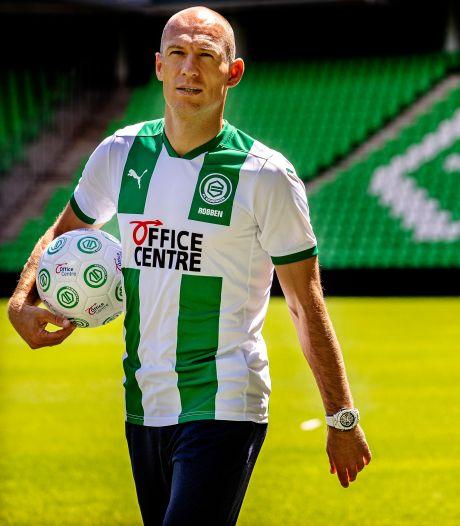 Robben voelt zich fit: 'Had niet durven hopen dat ik al zover zou zijn'