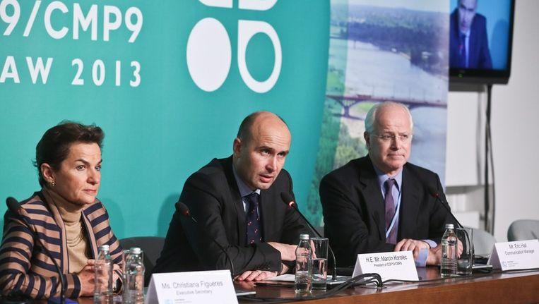 Een grote doorbraak in Warschau werd op voorhand niet verwacht en kwam er dus ook niet.. Beeld EPA