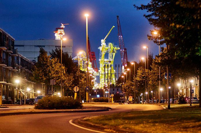 Huisman is een van de grote bedrijven in Schiedam.