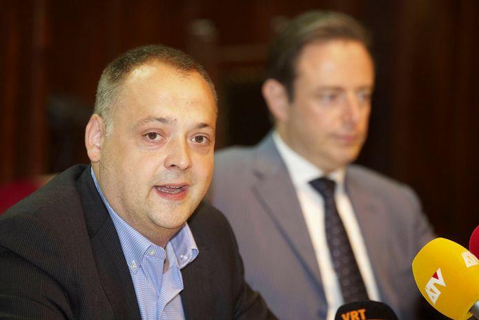 Duchateau is al sinds 2014 dé rechterhand van burgemeester De Wever.