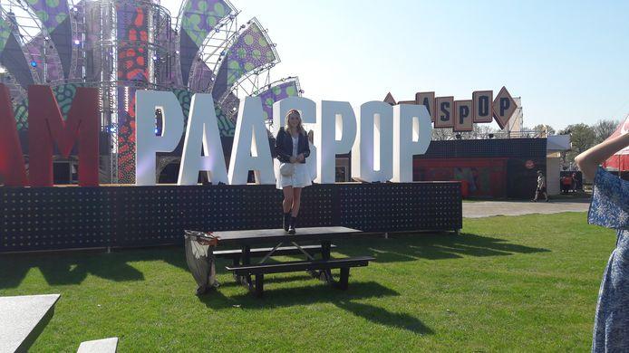 Dit wordt ongetwijfeld een populaire plek voor foto's en selfies op het festivalterrein: I AM PAASPOP.