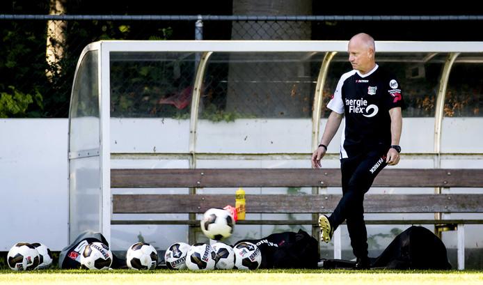 Ron de Groot, trainer van Jong NEC.