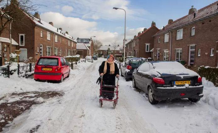 Afbeeldingsresultaat voor fotos van besneeuwde straten
