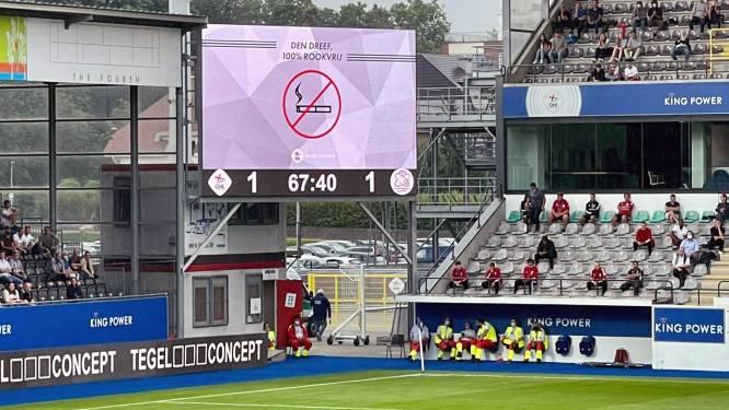 OHL bant sigaret in heel 'King Power at Den Dreef Stadion'