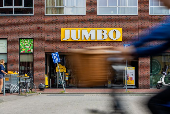 De Jumbo aan het Fenikshof in Nijmegen.