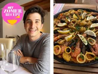 """""""In de keuken ben ik allergisch aan tijdsdruk.""""  Ruben staat bij vrienden bekend om zijn overheerlijke paella. Hij deelt met ons zijn succesrecept"""