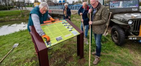 Nieuw paneel herdenkt Slag aan de Karbrug bij Bemmel