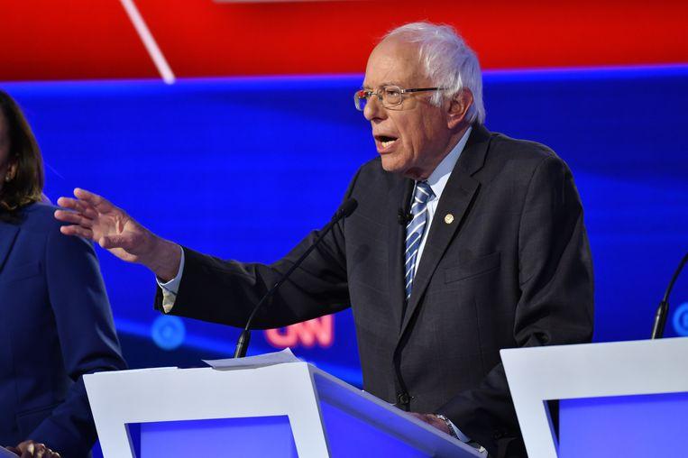 Bernie Sanders. Beeld Photo News