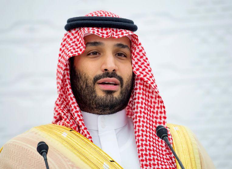 Mohammed bin Salman, de kroonprins van Saoedi-Aabië.  Beeld EPA