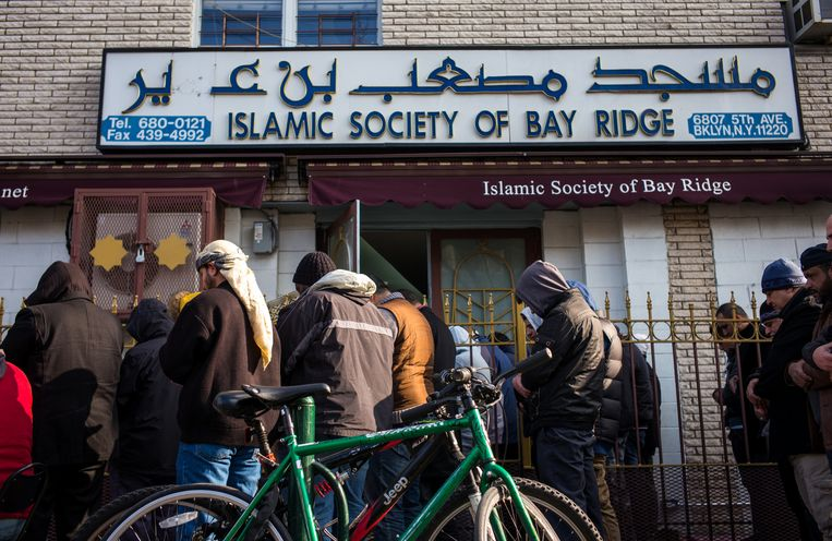 De islamitische sociëteit in Brooklyn, New York. Beeld Getty