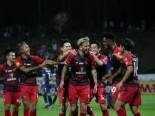 West-Brabants voetbalsucces in Thailand: De Leeuw scoort in de jungle