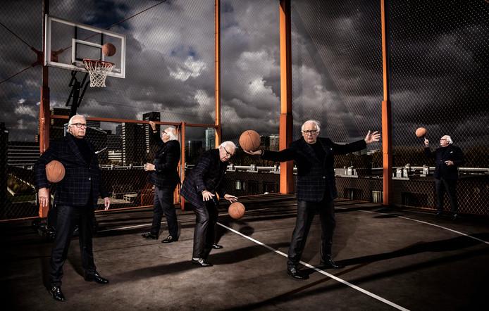 Mart Smeets. Een carrière als profbasketballer bleek de opmaat voor een leven in de sportjournalistiek.