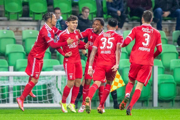 Manfred Ugalde scoorde namens de ploeg van Ron Jans.