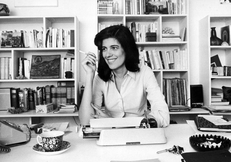 Susan Sontag in Frankrijk, 3 november 1972.  Beeld Roger Viollet/Getty Images