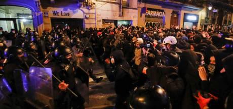 Vijfde dag op rij rellen in Barcelona vanwege opsluiting omstreden rapper Pablo Hasél