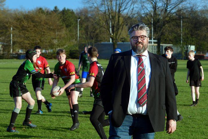 Nieuwe voorzitter rugbyclub Roosendaal Pieter Jan van Linden
