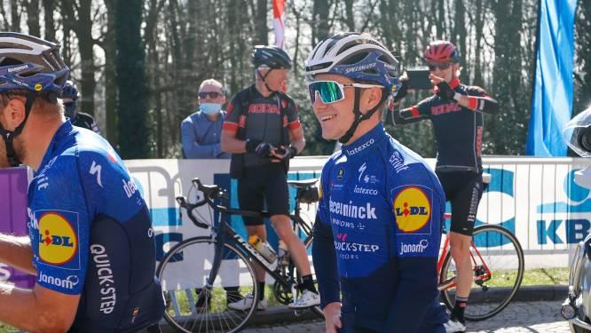LIVE. Wat vindt hij van Giro en hoe heeft hij test op de Muur verteerd? Volg hier het persmoment met Evenepoel