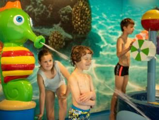Kinderen kunnen eindelijk genieten van nieuw speelhoekje in zwembad De Alk