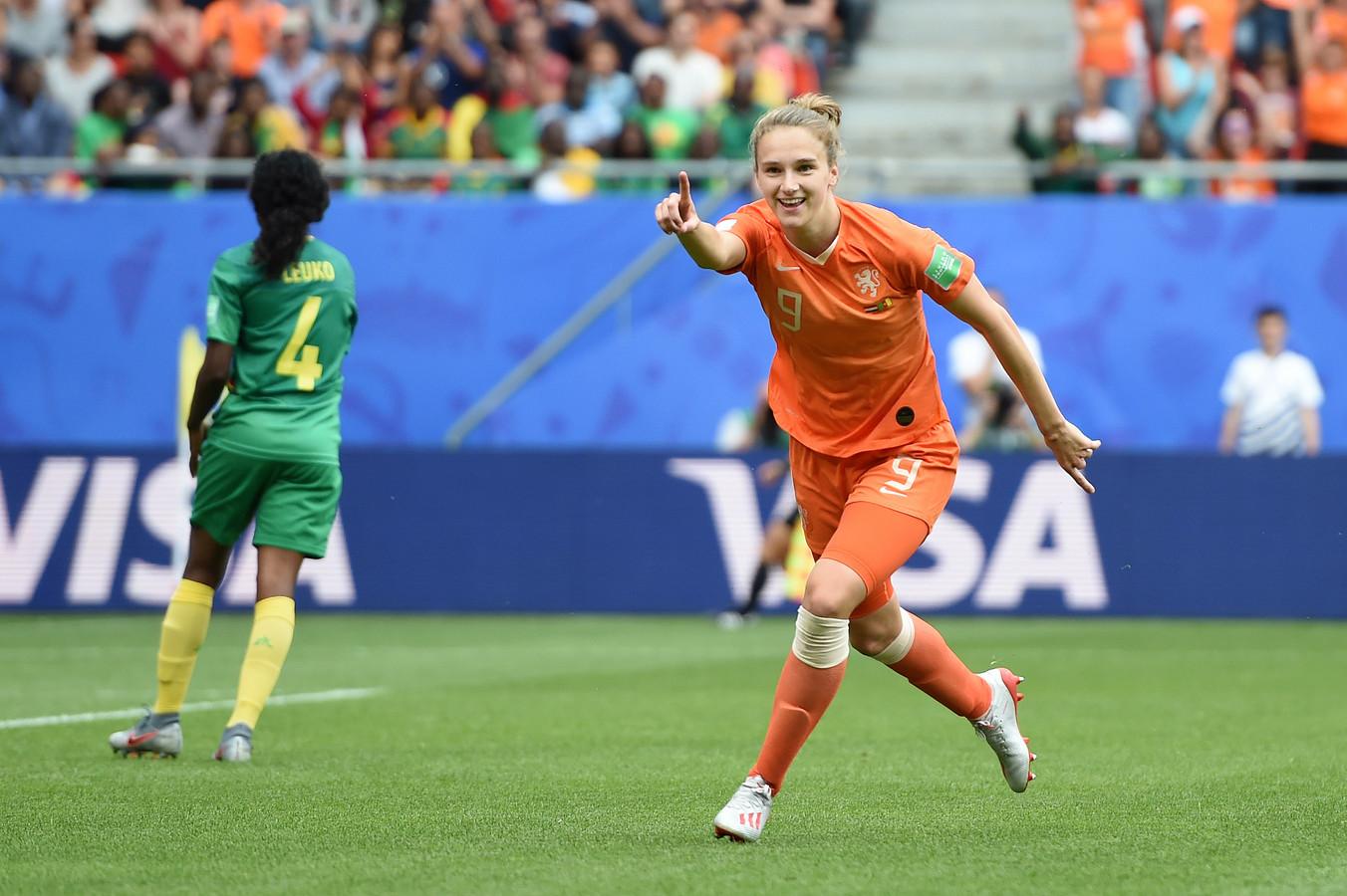 Vivianne Miedema is tot nu toe de enige echte uitblinker bij Oranje.