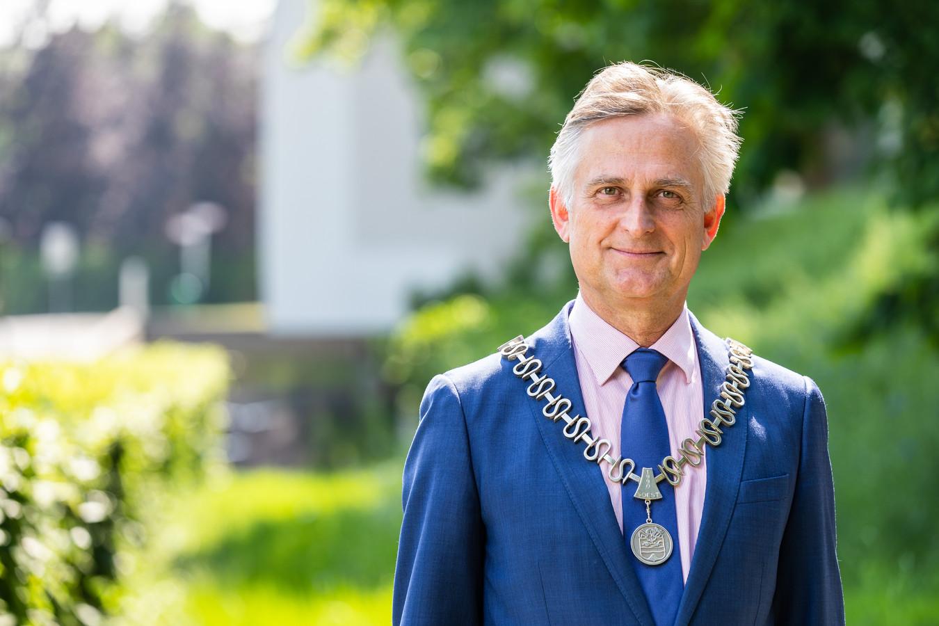 Rob Metz, burgemeester van Soest.