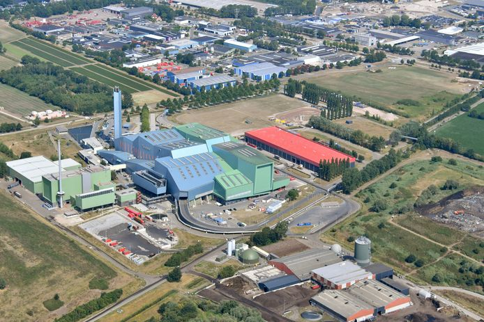 Het complex van Twence afvalverwerking op Boeldershoek