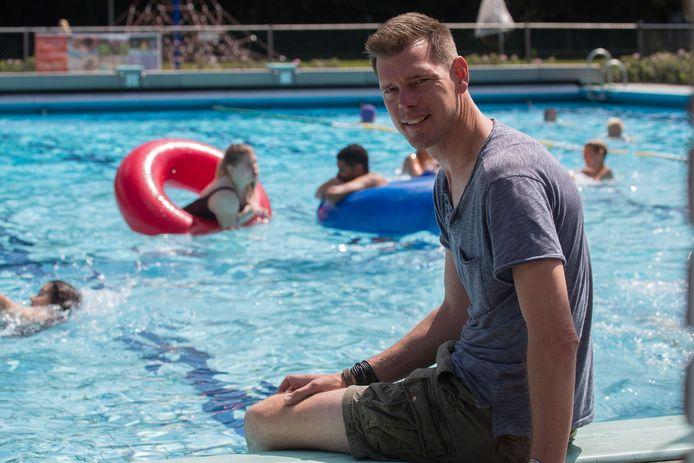 Zwembad de Tippe, voorzitter Wouter de Waal.