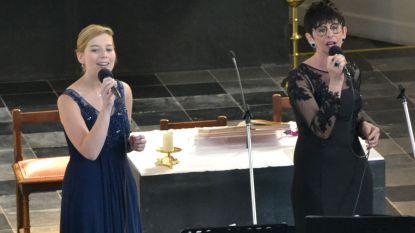 Petra Heeren en Astrid Van Kelecom concerteren in kerk
