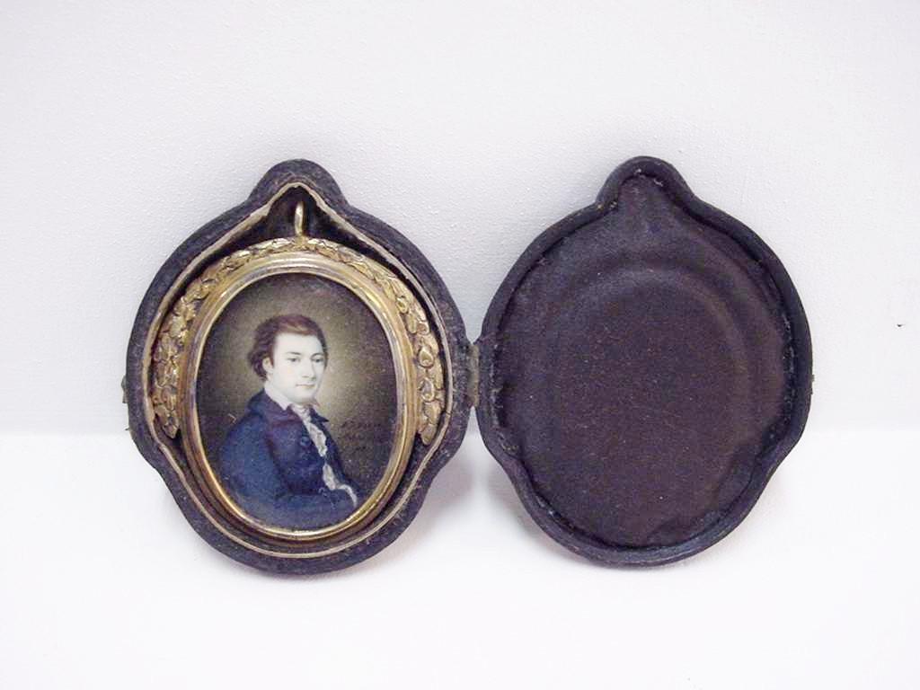 Portret Jacobus Bellamy door Antoine Jan van Mansvelt. collectie muZEEum Vlissingen