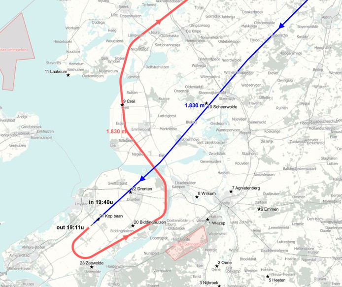 Route deel zes