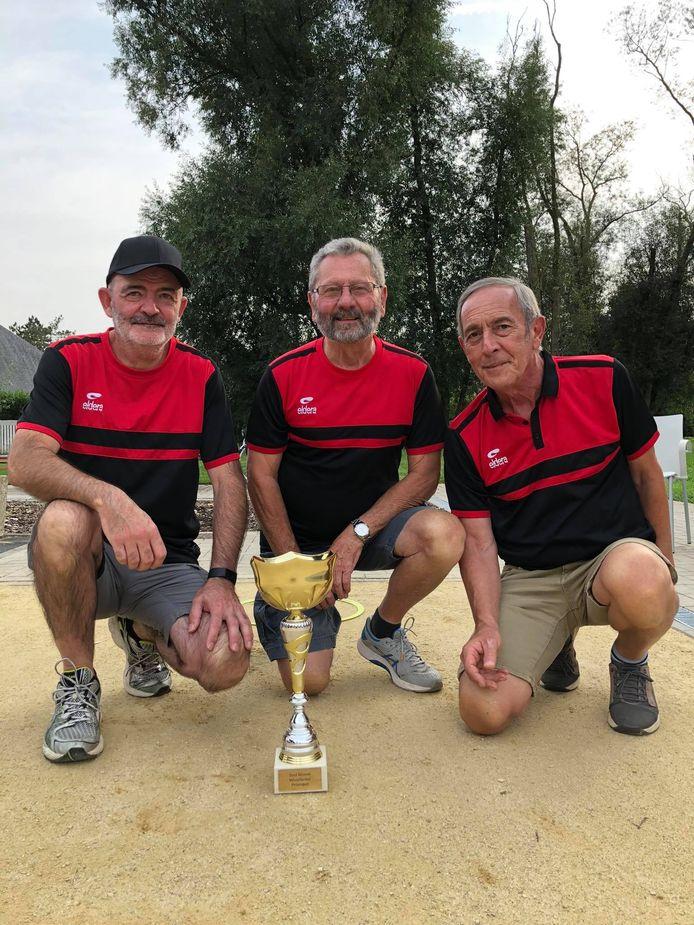De winnaars van wijk Hof Ter Duyst.