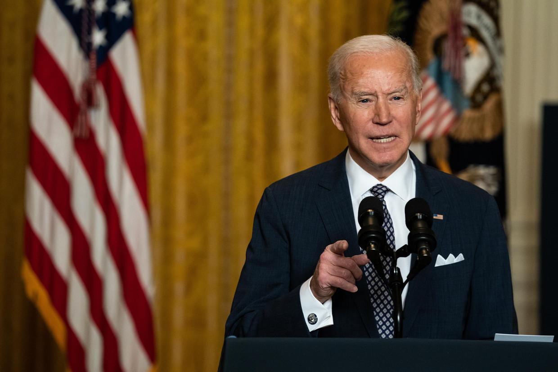 Joe Biden Beeld Getty Images