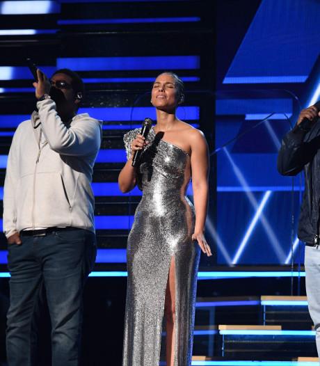 """La """"tristesse folle"""" d'Alicia Keys et tous les hommages à Kobe Bryant aux Grammys"""