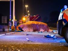 Dode bij ongeluk op A20 vlakbij Schiedam