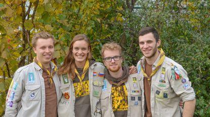 """""""Herinnering levendig houden en intens genieten van elke dag"""": vier scoutsvrienden lopen 100 km voor Kom op tegen Kanker - Zondag benefietconcert in De Casino"""