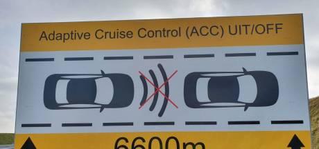 Exploitant waarschuwt: zet adaptieve cruise control uit in Westerscheldetunnel
