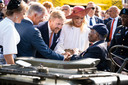 De Belgische en Nederlandse koningsparen waren bij de start van het jubileumjaar, de herdenking van de Slag om de Schelde