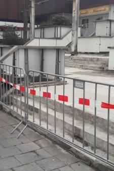 Toegang tot Kwinkelier Bilthoven levensgevaarlijk en dus afgesloten