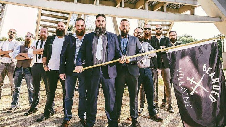 Baardenclub The Bearded Villains wil enkel 'toffe foto's maken voor op Instagram', maar dat wordt niet door iedereen geapprecieerd. Beeld ©rv