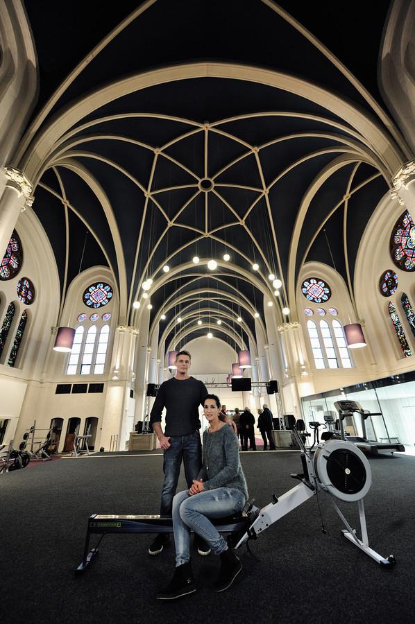 Joep en Toos van Gorp begonnen een sportschool in de Withofkapel in Etten-Leur.