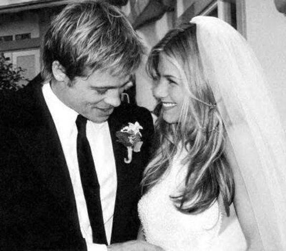 Tijdens hun huwelijk in 2000.