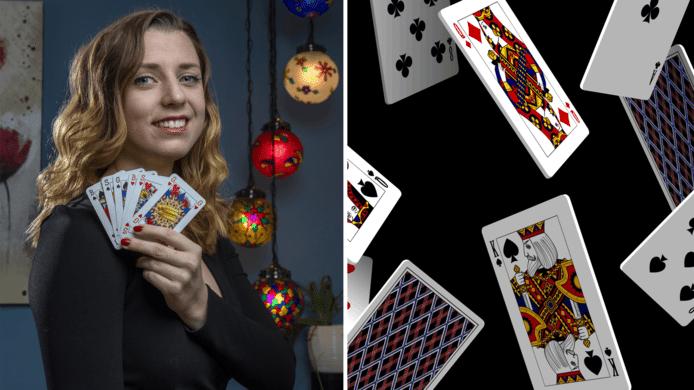 Waarom is de heer bij een kaartspel meer waard dan de vrouw? Dat is de vraag die de 23-jarige Indy Mellink zich vorig jaar te binnen schoot. Daarom ontwikkelde zij het eerste volledige gendervrije kaartspel.