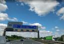 De M62 nabij Warrington.