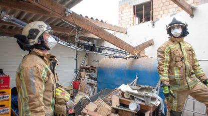 """""""Ik was net de deur uit, toen die puntgevel door het dak stortte"""""""