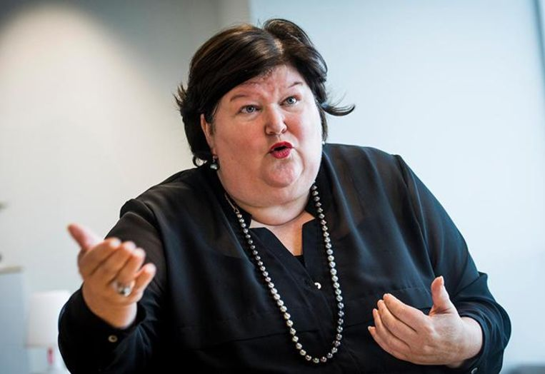 Minister van Volksgezondheid Maggie De Block (Open Vld) wil weten hoe gezond u bent. Beeld photo_news
