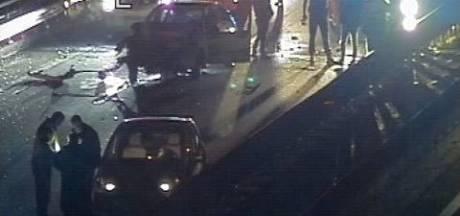 A12 in de richting van Arnhem afgesloten vanwege ongeluk bij Zevenaar