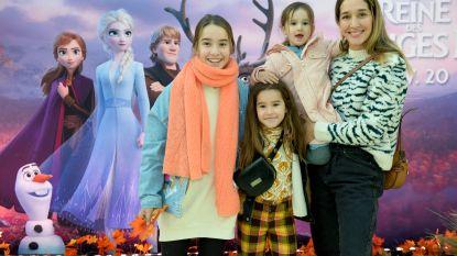 IN BEELD. 'Frozen 2' betovert BV-kindjes en hun ouders