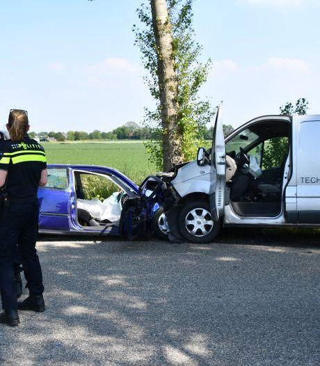 Gewonden bij ernstig ongeluk in Driewegen