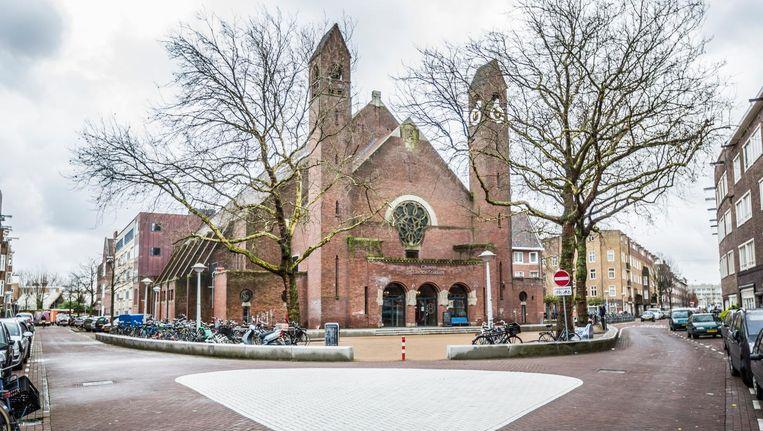 De onbekende architect Karel Tholens ontwierp de Chassékerk tussen 1924 en 1926 in een stijl die verwant is aan de Amsterdamse School Beeld Eva Plevier