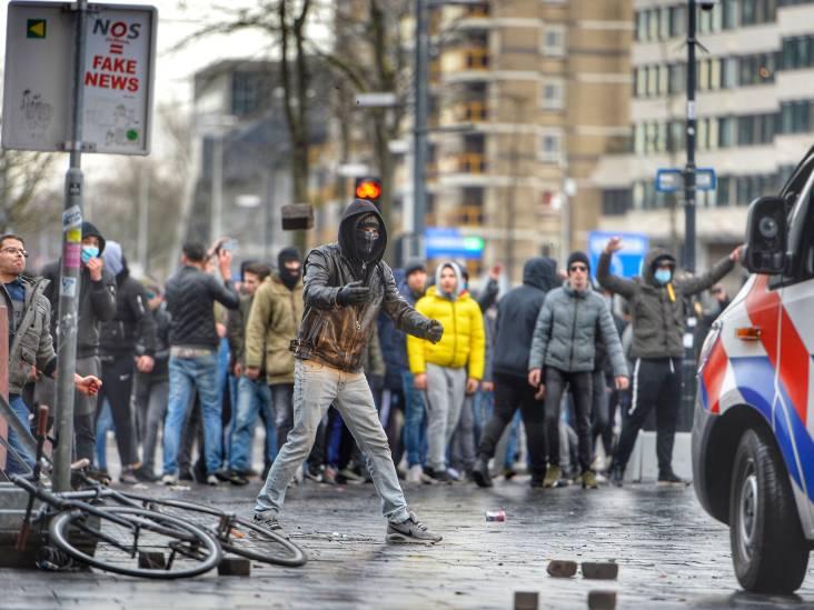 'We gaan zeker tientallen relschoppers identificeren': politie eerst achter plunderaars en geweldplegers aan